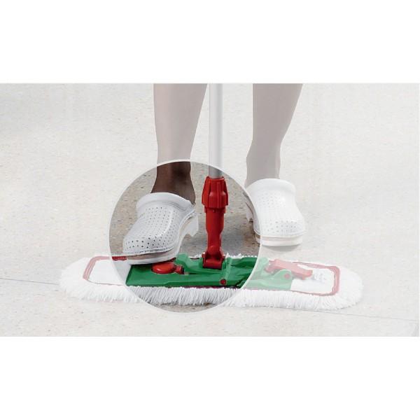 Support pour prendre le balai de lavage pliable avec pince frange microfibre manche t lescopique - Meilleur balai pour laver le sol ...