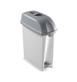 poubelle toilette wc salle de bain sans odeur 17 litres avec ouverture bascule le raton laveur. Black Bedroom Furniture Sets. Home Design Ideas