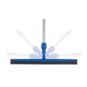 Raclette sol articulation mobile 55 cm et manche télescopique
