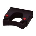 Support manche diam. 20 à 30 mm  pour rail alu