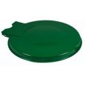 Couvercle métal vert pour support sac vert extérieur (8031000)