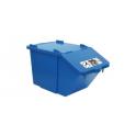 Poubelle Container Eco tri 45 litres BOX BLEU