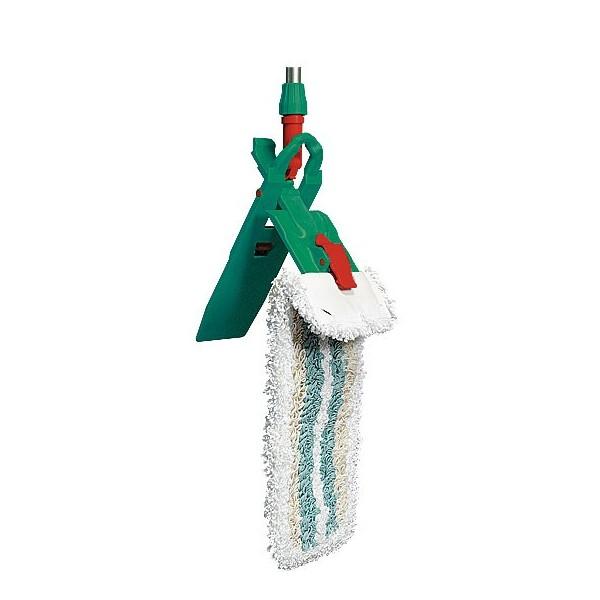support pour prendre le balai de lavage pliable avec pince. Black Bedroom Furniture Sets. Home Design Ideas
