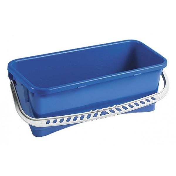 seau bleu avec anse de 10 litres entretien des sols le. Black Bedroom Furniture Sets. Home Design Ideas