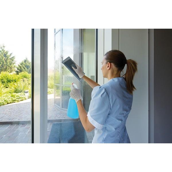 support rapid vitres avec un bandeau microfibre nettoyage vitres. Black Bedroom Furniture Sets. Home Design Ideas