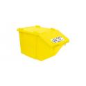 Poubelle Container Eco tri 45 litres BOX JAUNE