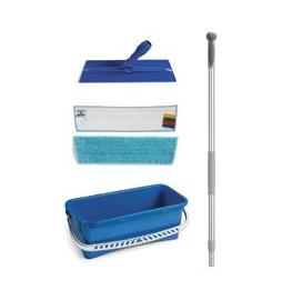 Seau de lavage 10 Litres avec Support ALAPI 40 cm et 2 bandeaux de lavage