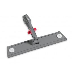 Support balai 40 cm avec système velcro et blocage articulation