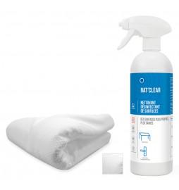 Kit de désinfection virucide à usage unique